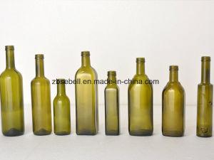 500ml Dark Green Bvs Top Oil Bottle pictures & photos