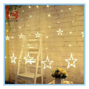 2m Star LED Decorative Lights Curtain Lights for Festival Decoration pictures & photos