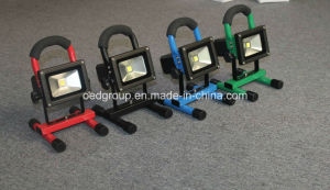10W Portable LED Flood Light/Emergency Lighting/Outdoor Chargeable Lighting pictures & photos