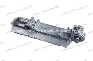 Engine Oil Cooler Cover 6SA1, Application Isuzu pictures & photos
