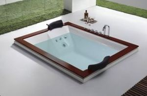 Most Popular Under Ground Indoor Hot Tub for Two People (M-2036) pictures & photos