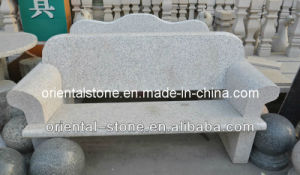 Grey Granite Stone Furniture Bench for Garden