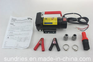 12/24V DC Electric Oil Diesel Fuel Transfer Pump / Diesel Fuel Dispenser - 175W 45L/Min pictures & photos