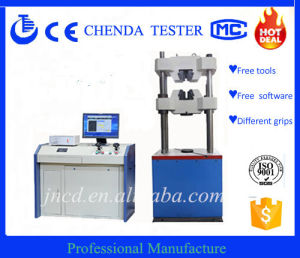 Computer Control Servo Hydraulic Universal Testing Machine Waw-600b pictures & photos