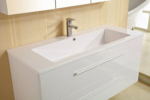 Wall-Mounted MDF Bathroom Vanity Cabinet pictures & photos