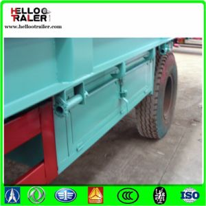 3 Axle 60 Ton Low Body Trailer pictures & photos