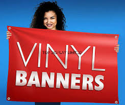 Custom Indoor & Outdoor Dye-Sublimation Printing Polyester Fabric Poly Vinyl Banner pictures & photos