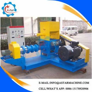 Single Screw Puffed Machine Make Extruded Fish Feed pictures & photos