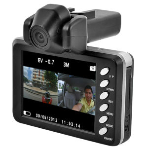 2.8 Inch LCD Display HD 1920x720p Car DVR with Motion Detection H. 264 pictures & photos
