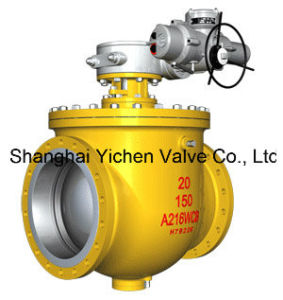 Electric Top Entry Trunnion Mounted Ball Valve ((SZQ941) pictures & photos