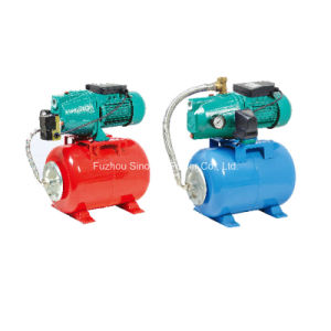 220V Single Phase Automatic Boosting Water Pump with Pressure Tank 24L pictures & photos