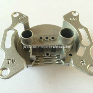 Butterfly Wall Socket of TV Set Installation Made From A380 Aluminum Alloy pictures & photos