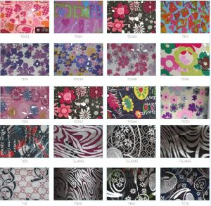 300d Flower School Bag Polyester Fabric