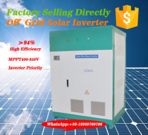 480VAC to 415VAC Step-Down Voltage Converter -Big Capacity Power Inverter pictures & photos