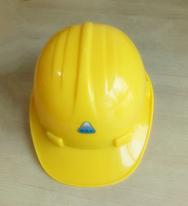 Yellow Color ABS Safety Helmet for Construction pictures & photos