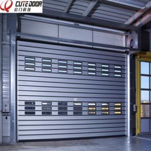 Industrial Aluminum Foam Metal Rapid Roller Shutter Exterior Door pictures & photos