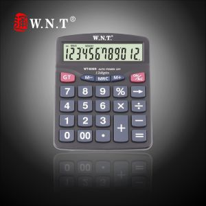 12 Digits Dual Power Desktop Calculator (WT-836N)