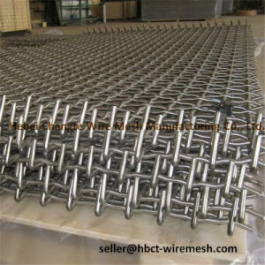 Abrasion Resistance Metal Crimped Wire Mesh for Sand pictures & photos
