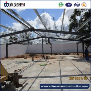 Galvanized Prefabricated Steel Construction for Poultry House with Good Design and Quality pictures & photos