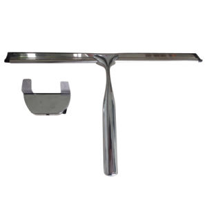 Luxurious Stainless Steel Bathroom Window Wiper Including Wall Bracket pictures & photos