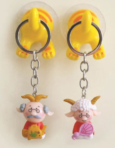 Plastic Toy. Promotional Figure Keychain Toys pictures & photos