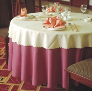 Table Cover&Napkin / Table Cloth / Restaurant Textile (DPR2006) pictures & photos