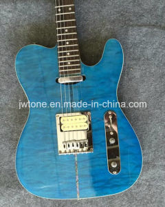 Set in Neck Quilted Maple Top Super Tele Electric Guitar pictures & photos