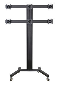 """Public TV Floor Stand 6-Monitor 10-24"""" (AVD 006B) pictures & photos"""