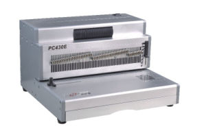 Electric A3 Size Spiral Coil Binding Machine (PC430E) pictures & photos
