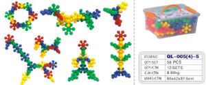 Flower Shape Assembly Blocks