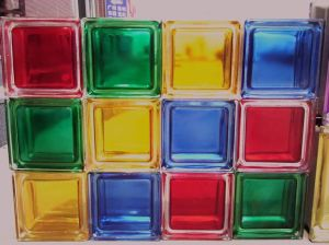 Colored Block Glass and Glass Block From Suny Glass pictures & photos
