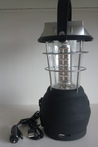 Solar Camping Light with USB (SP-SCL01-1)