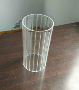 Transparent and Frosted Glass Cylinder Chimneys (HH Lighting glass 19) pictures & photos