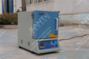 1300c 3L Mini Bench-Top Box Muffle Furnace Laboratory Furnace pictures & photos