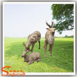 Animal Sculpture Deer Stone Sculpture pictures & photos