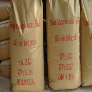 Food/Industrial Grade SHMP Sodium Hexametaphosphate pictures & photos