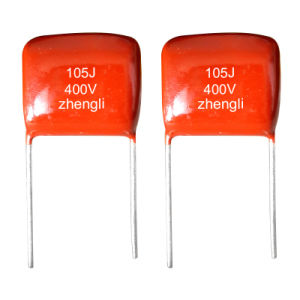 Box Type Metallized Polyester Film Capacitor (Cl71) pictures & photos