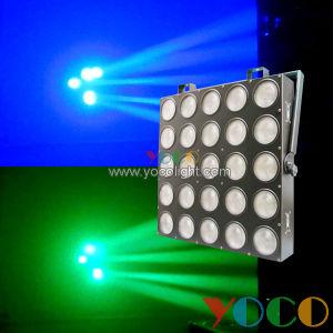 25 Eyes 25*10W RGBW 4in1 LED Stage Light Matrix Beam