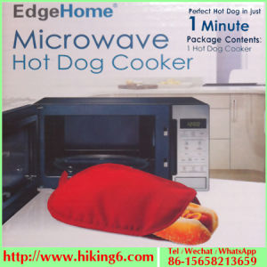 Polyester Microwave Hot Dog Cooker pictures & photos