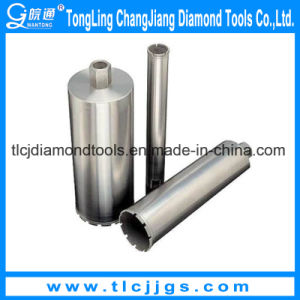 Hot Pressed Diamond Tip Drill Bits with Turbo Segment pictures & photos