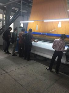 340cm Cam Shedding Air Jet Loom pictures & photos