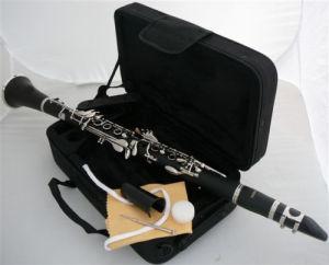 17 Keys Ebonite Body Clarinet Bb Key
