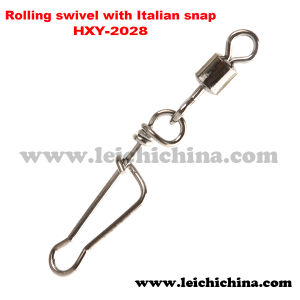 Fishing Rolling Swivel with Italian Snap pictures & photos