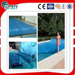 PVC Bubble Plastic Automatic Swimming Pool Cover pictures & photos