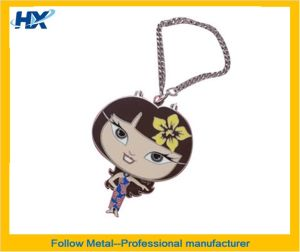 Key Chain with Mirror Inside pictures & photos