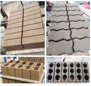 Qt4-24 Semi Brick Making Machine Uganda pictures & photos