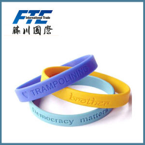 Smart Waterproof Silicone Rubber Wristband pictures & photos