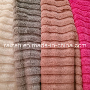 Supply Cut Strips PV Fleece, PV Velvet Flower Brushed pictures & photos
