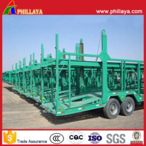 2 Axles Car Carrier Trailers for Sale pictures & photos