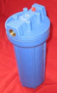 Clear Transpanert and Blue PP Filter Material Water Filter Housing pictures & photos